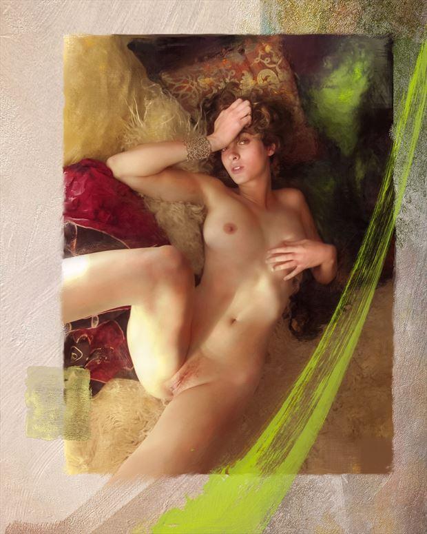 sailing to byzantium 1 artistic nude artwork print by artist ward george