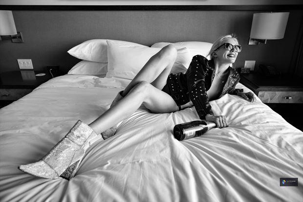 samantha lingerie photo print by photographer acros photography
