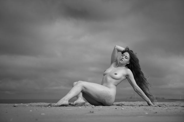 seascapes artistic nude photo print by photographer louis sauter