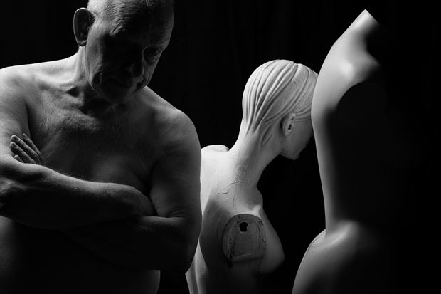 self artistic nude photo print by photographer jan karel kok