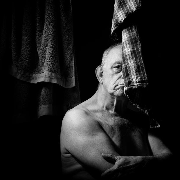 self september 2021 artistic nude photo print by photographer jan karel kok