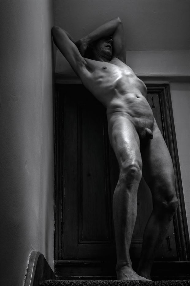 self vi artistic nude photo print by photographer jbdi