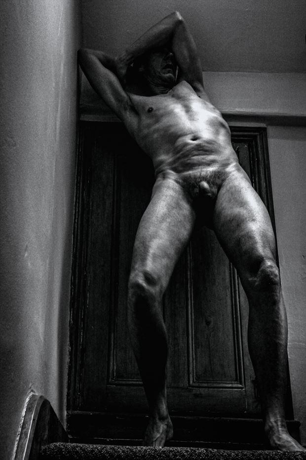 self vii artistic nude photo print by photographer jbdi