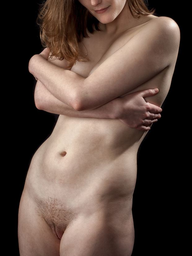 semi modest artistic nude photo print by photographer rick jolson