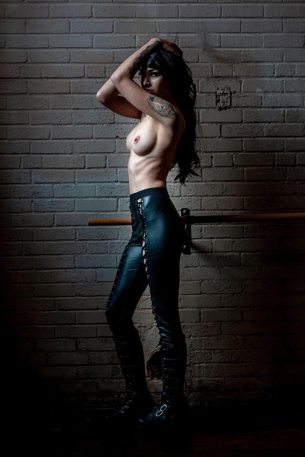 sensual chiaroscuro photo print by photographer goadken