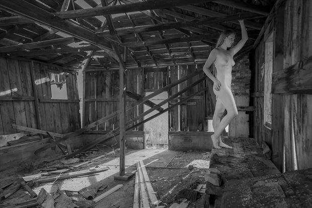 sensual disarray artistic nude photo print by photographer opp_photog