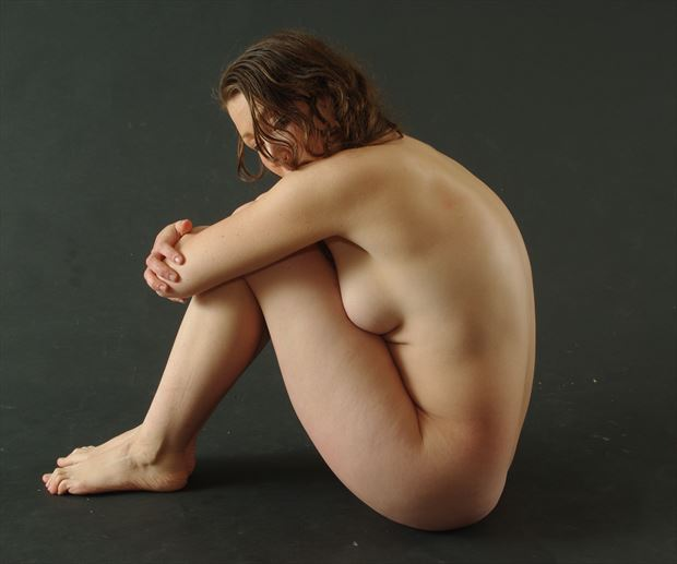 sensual implied nude photo print by photographer james curran