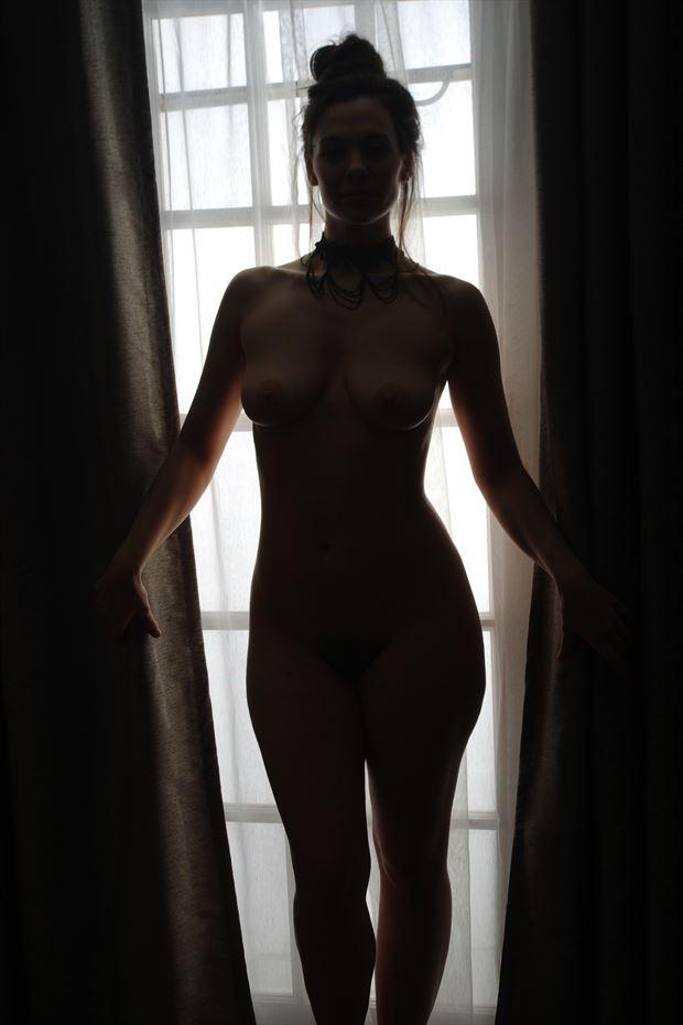 sensual silhouette photo print by photographer zames curran