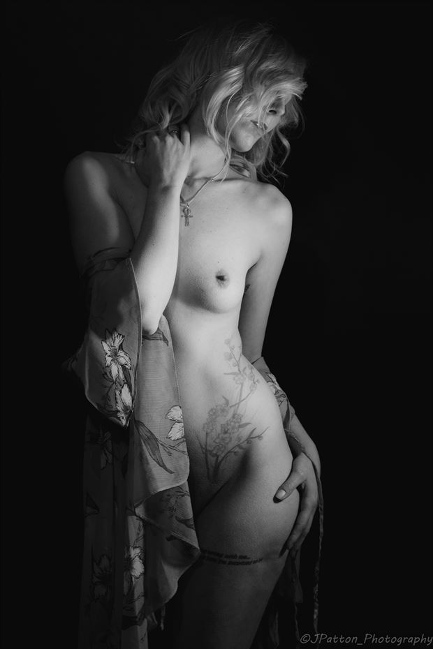 shadow play artistic nude photo print by photographer jcp photography