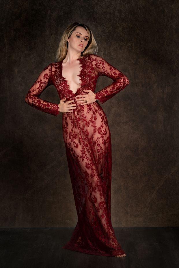 shear beauty lingerie photo print by photographer colin dixon