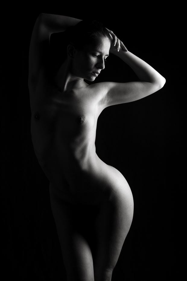 sheba artistic nude artwork print by photographer tony avellino
