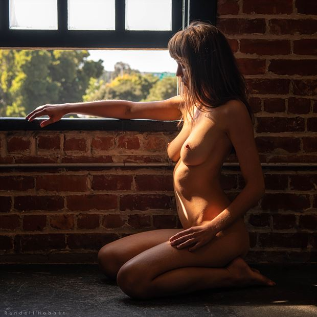shelter in place artistic nude photo print by photographer randall hobbet