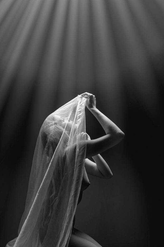 shine a light on me artistic nude photo print by photographer colin dixon