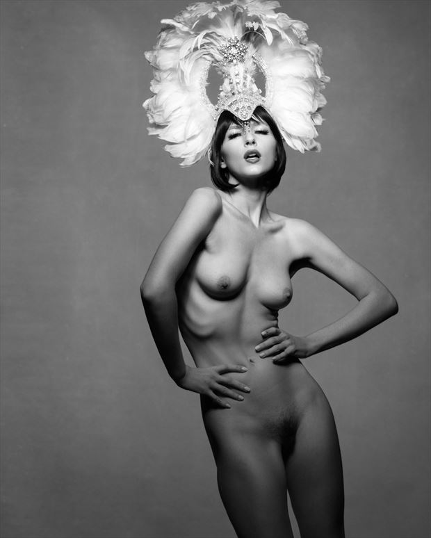 showgirl 3 artistic nude photo print by photographer bruce m walker