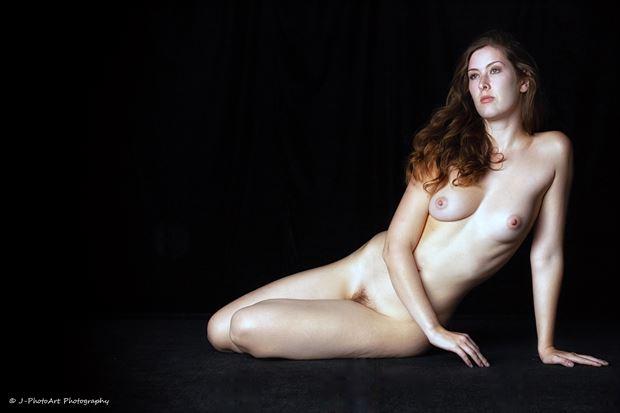 sienna hayes artistic nude photo print by photographer j photoart