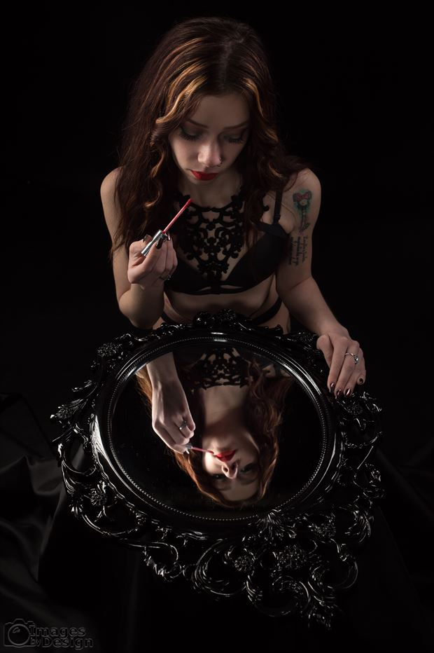 sierra s reflection cosplay photo print by photographer jim setzer