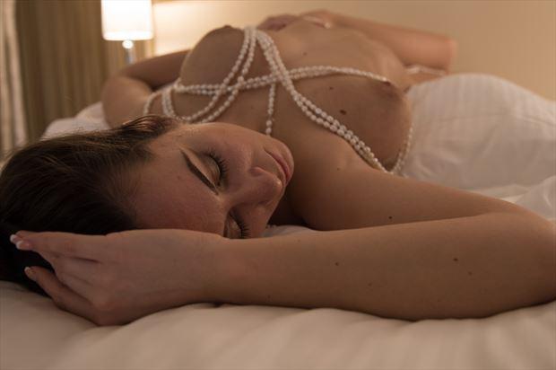 sleeping beauty artistic nude photo print by photographer arcis