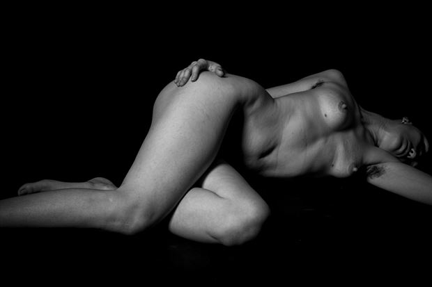 sleeping beauty in song artistic nude photo print by photographer thomas branch