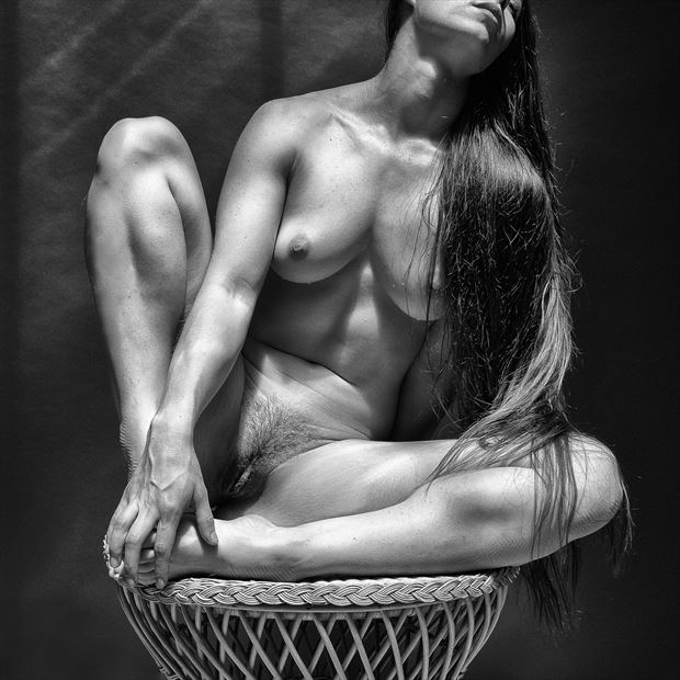 so very hot 95 degrees f artistic nude photo print by photographer rick jolson