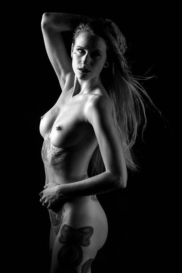 solstice artistic nude photo print by photographer depa kote