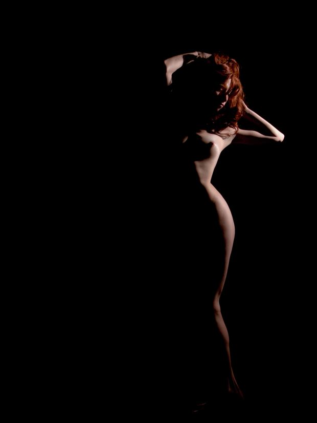 sonjia artistic nude photo print by photographer pblieden