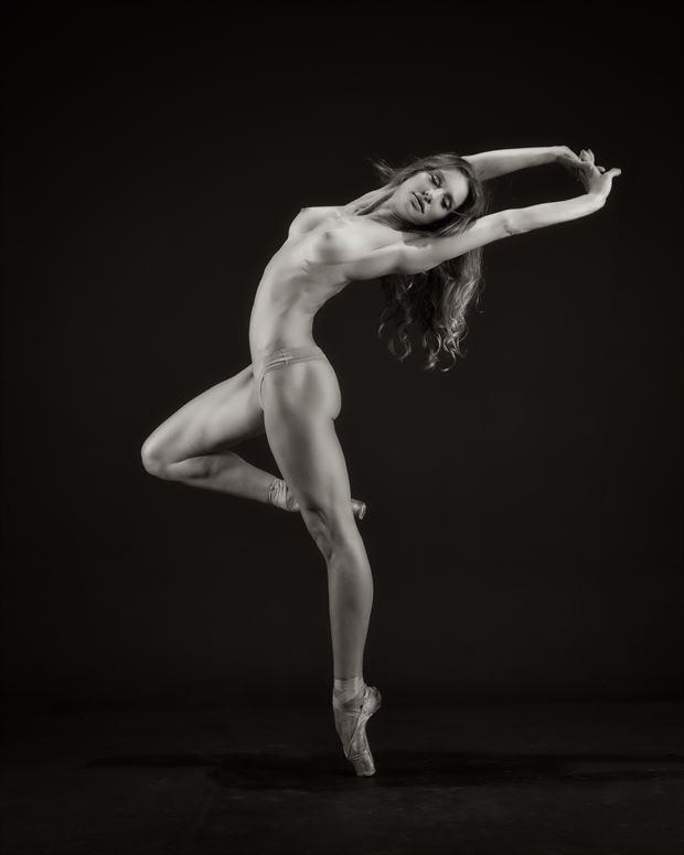 spirit of dance artistic nude photo print by photographer randall hobbet