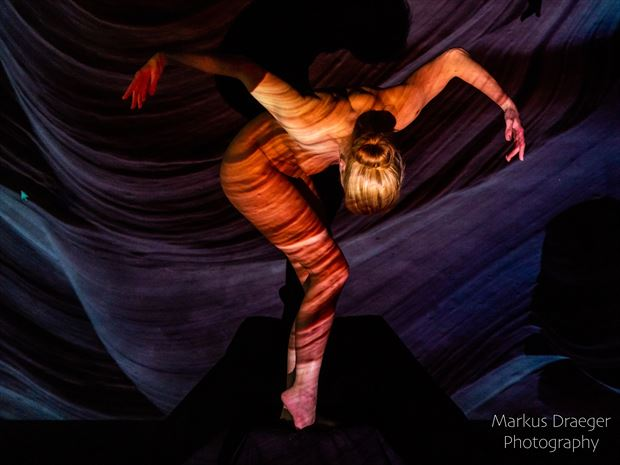 spreading my wings to fly artistic nude photo print by photographer mdraeger