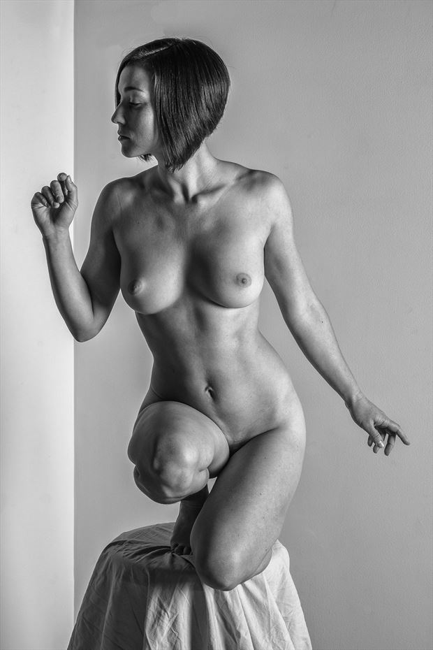 steady there artistic nude photo print by photographer rick jolson