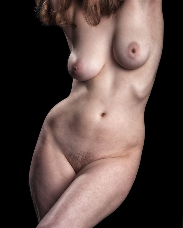 still shy artistic nude photo print by photographer rick jolson