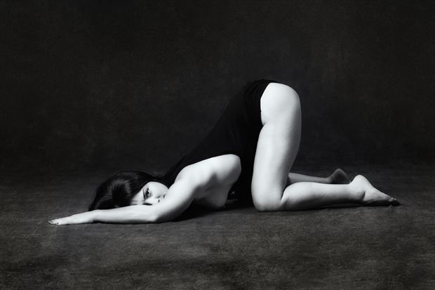 subservient   Erotic Photo print by Model JessicaKlaus