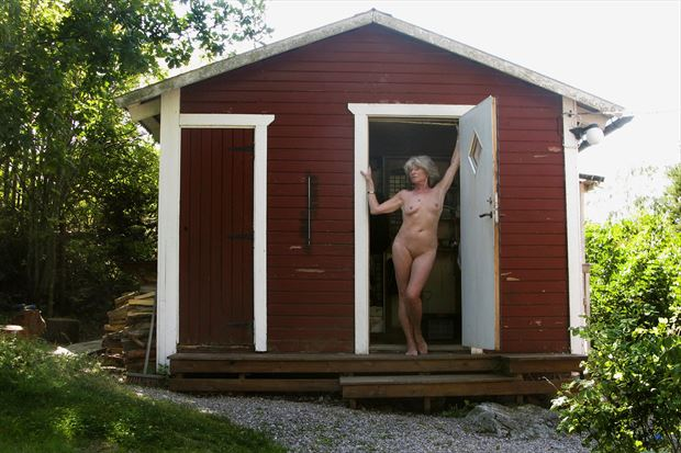 summer in the countryside 2020 artistic nude photo print by photographer studiovi2