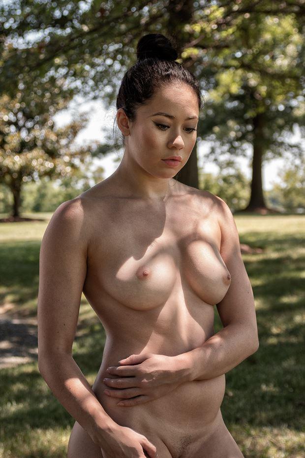 tara eastern shore artistic nude photo print by photographer rick jolson