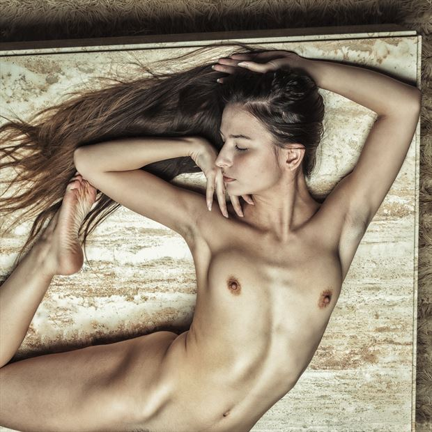 the always graceful blueriverdream artistic nude photo print by photographer rick jolson