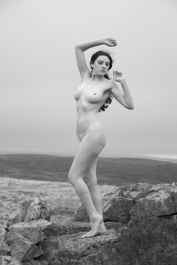 the beauty of beacons artistic nude photo print by photographer photorunner