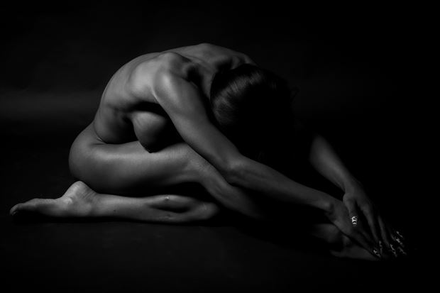the beauty of k part 2 artistic nude photo print by photographer thomas branch