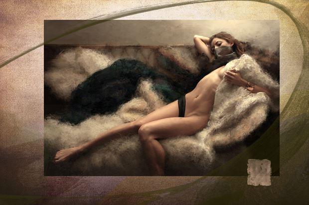 the orientalists artistic nude artwork print by artist ward george