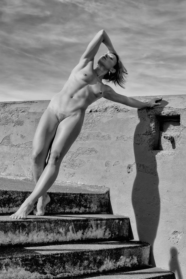 the ramparts artistic nude photo print by photographer philip turner