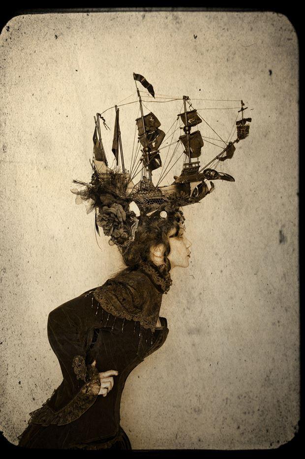 the raven fantasy photo print by photographer stu williamson