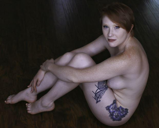 tigger art model artistic nude photo print by photographer chris gursky