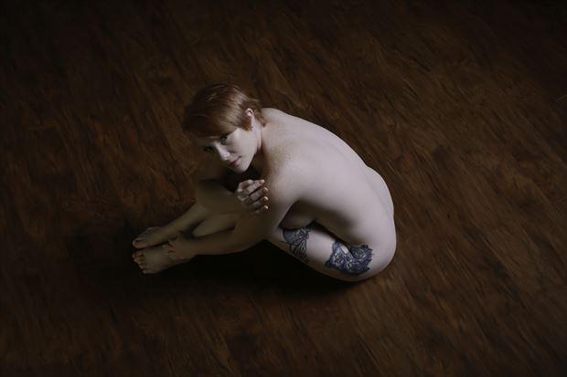 tigger artistic nude photo print by photographer chris gursky