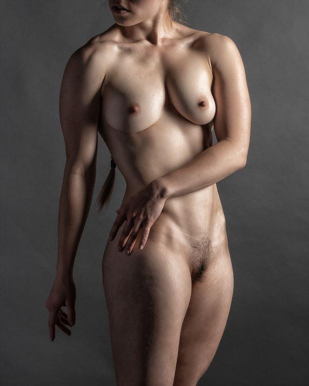 torso 1 artistic nude photo print by photographer rick jolson