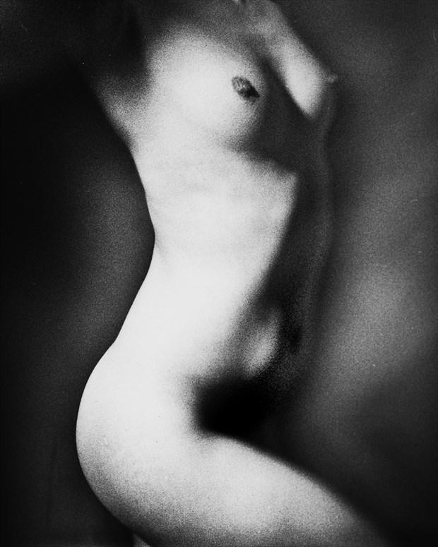 torso artistic nude artwork print by photographer marcvonmartial
