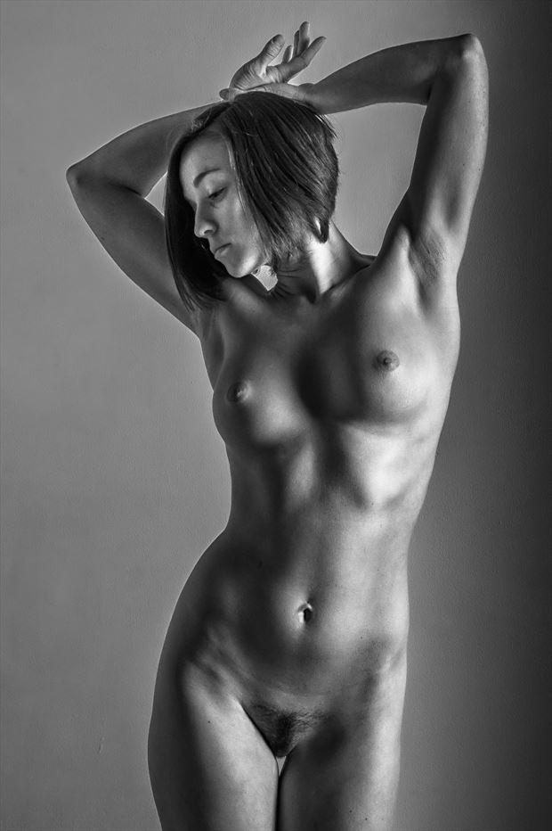 torso artistic nude photo print by photographer rick jolson