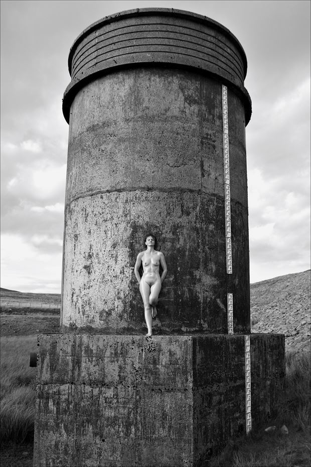 towering above the rest artistic nude photo print by photographer photorunner