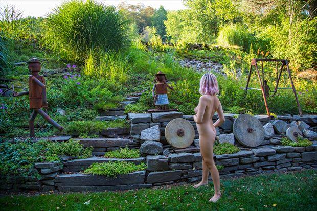 toyland artistic nude photo print by photographer michael grace martin
