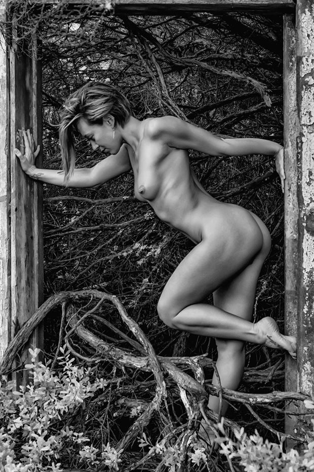 twists and turns artistic nude photo print by photographer philip turner