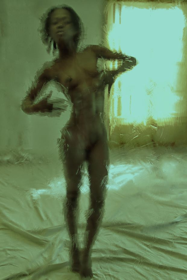 unbearable lightness of being artistic nude photo print by artist kevin stiles