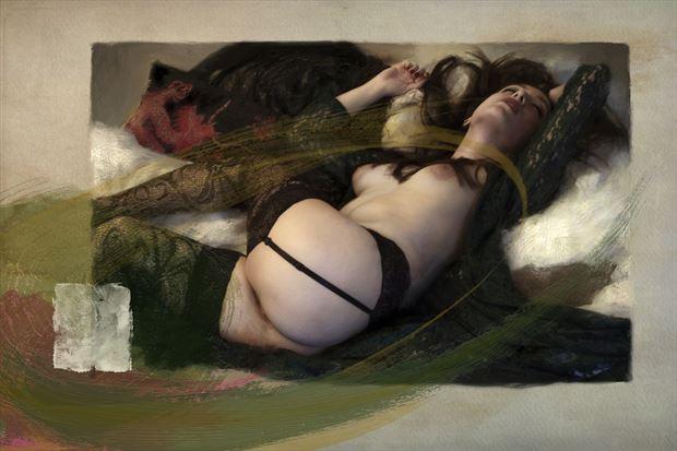 untitled 2 artistic nude artwork print by artist ward george