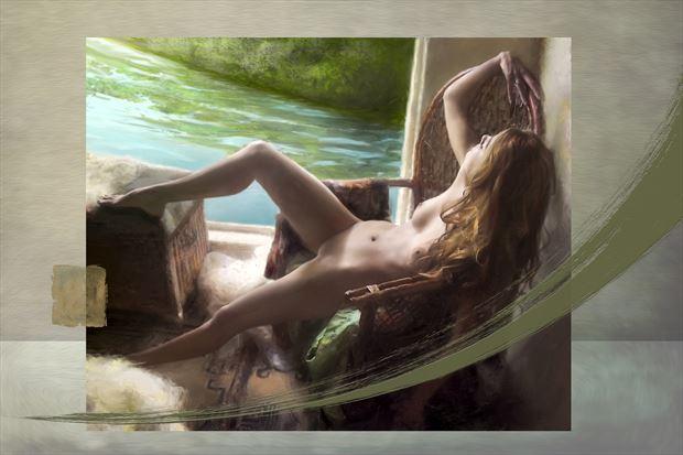 untitled 3 artistic nude artwork print by artist ward george