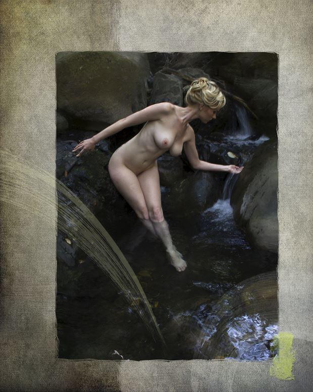 untitled 6 artistic nude artwork print by artist ward george